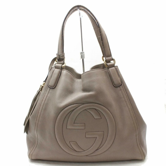 678d7460793a Gucci Bags | Auth Soho Leather Shoulder Bag 431l2502 | Poshmark